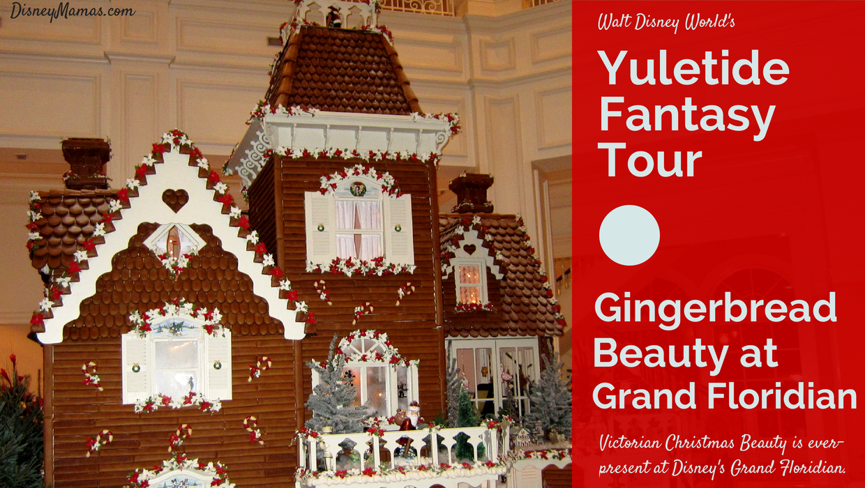 Tour the Grand Floridian during the Yuletide Fantasy Tour