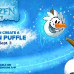 FROZEN Arrives at Club Penguin!