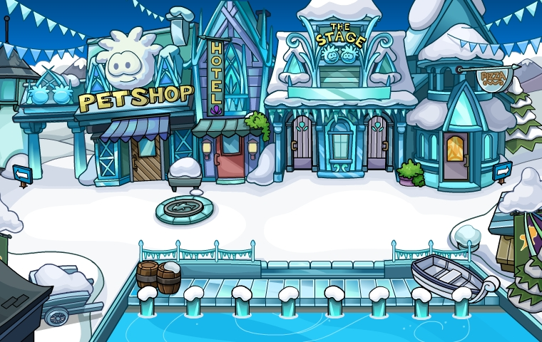 Club Penguin Frozen Winter