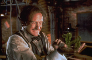 Prof. Brainard brilliantly brought to life by Robin Williams for the remake of The Absent-Minded Professor.