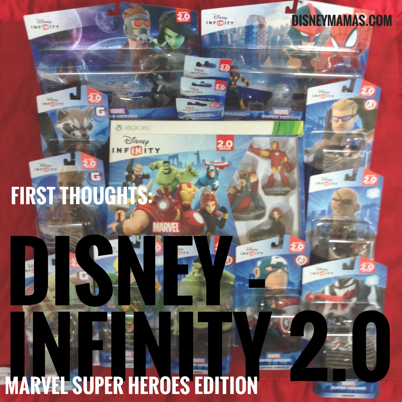 First Thoughts on Disney Infinity 2.0 Marvel Super Heroes