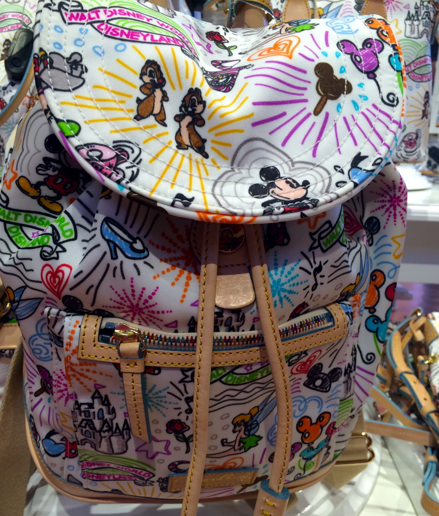 This Dooney & Bourke Backpack is perfect for a day in the parks.