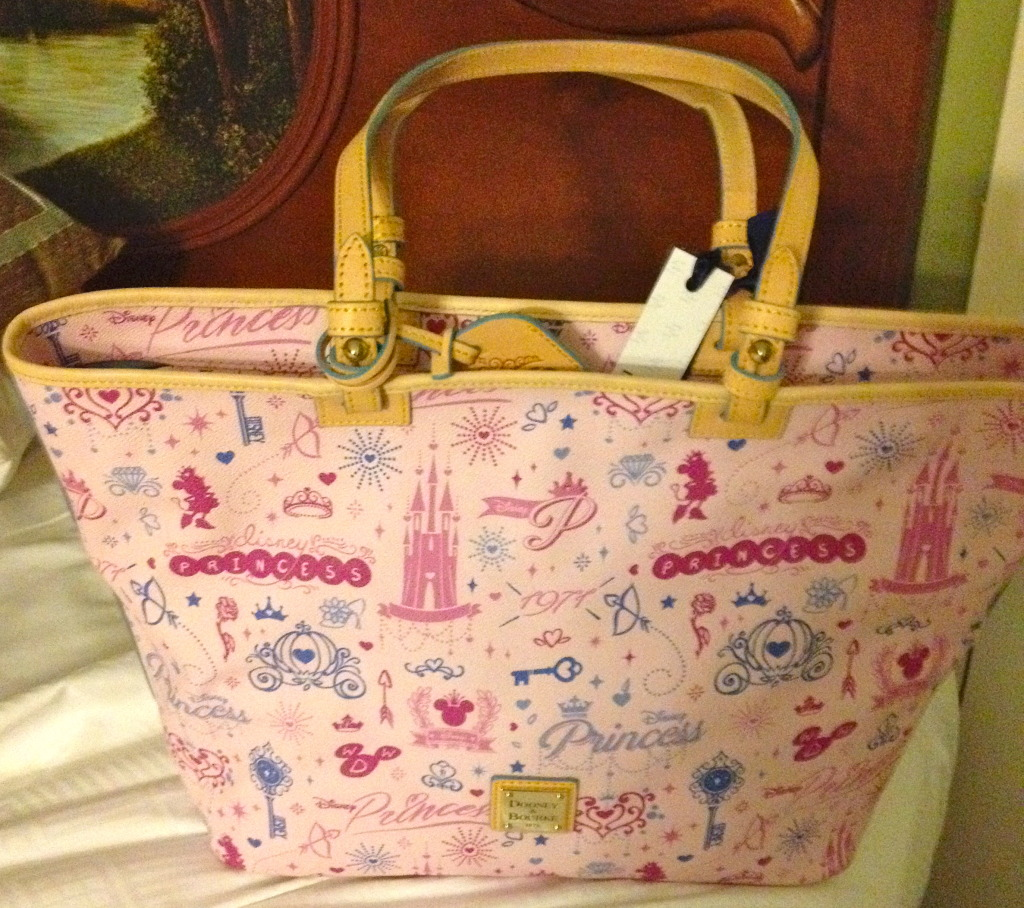Princess Half Marathon 2014 Dooney & Bourke is no longer available for purchase, but isn't it beautiful?!