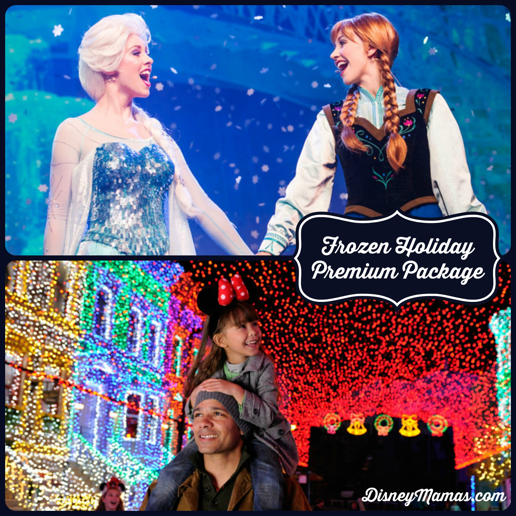 Frozen Holiday Premium Package | Disney Mamas