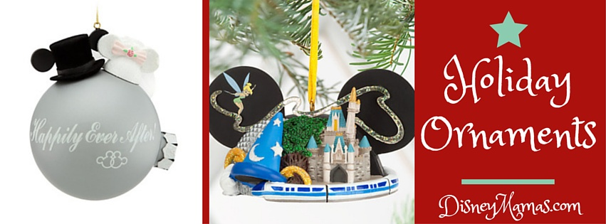Holiday Ornaments from DisneyStore.com | Disney Mamas