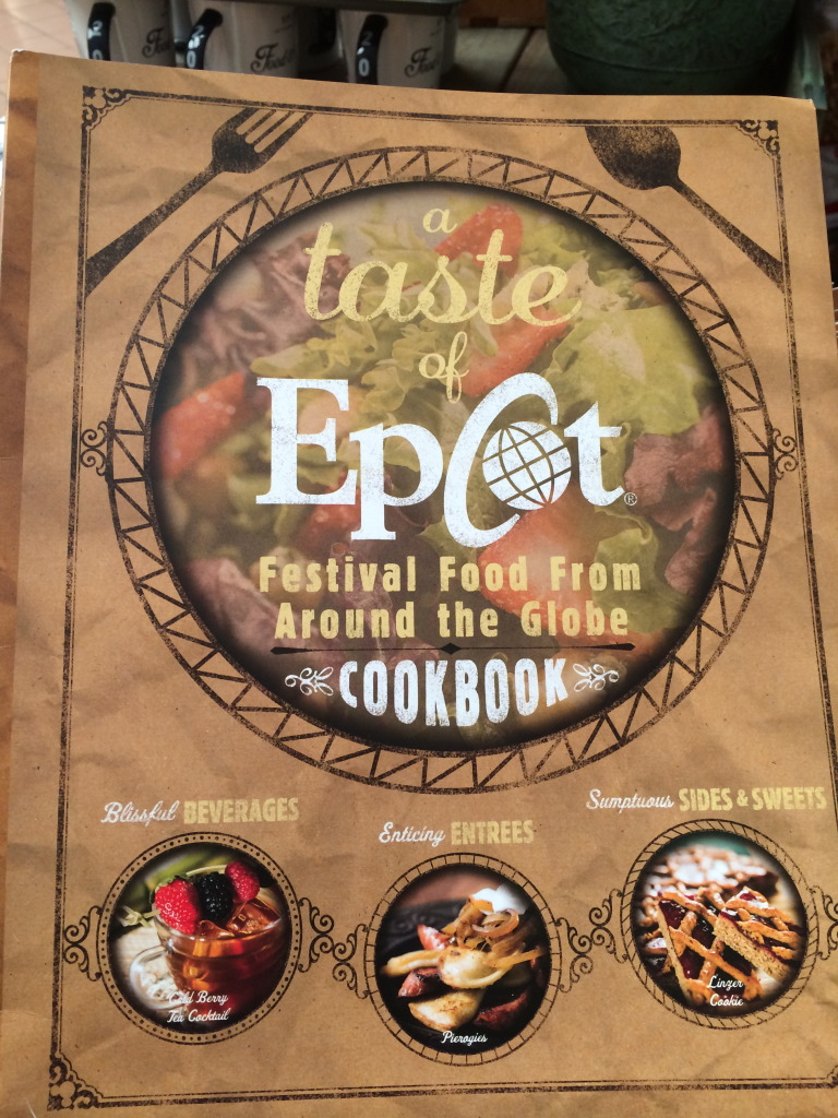 The annual Taste of Epcot Festival Food from Around the Globe Cookbook will have you cooking all year long.