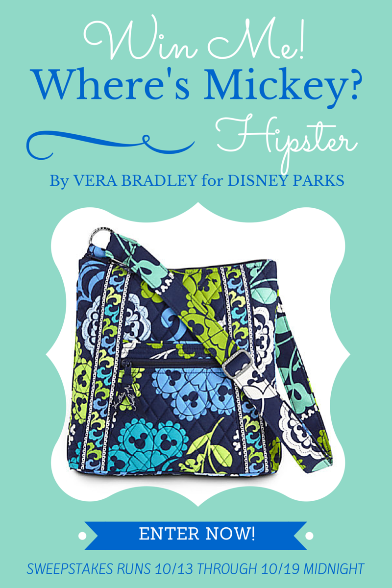 No Tricks, Just Treats with this Vera Bradley Giveaway | DisneyMamas.com