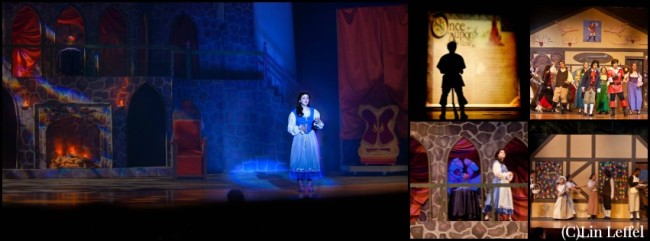 My scenic designs for Beauty and the Beast at Wakeland High School | Disney Mamas