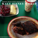 Dining with Food Sensitivities at Walt Disney World
