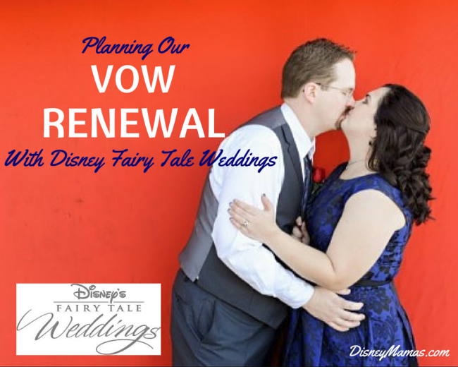 Planning Our Vow Renewal with Disney Fairy Tale Weddings | DisneyMamas.com