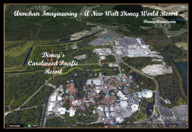 #ImagineeringFriday ~ Armchair Imagineering a New Resort for Walt Disney World. NOT an actual project for WDI, this is just for fun!