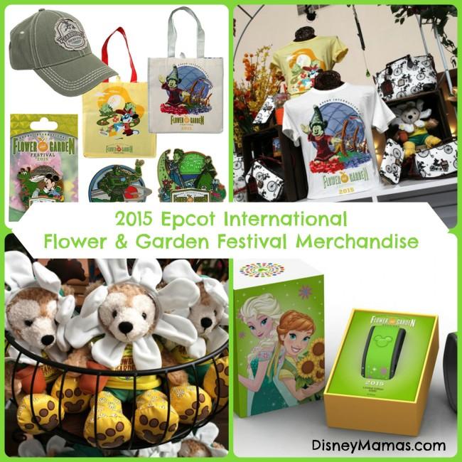 2015 Epcot International Flower & Garden Festival Merchandise
