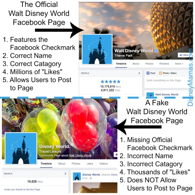 5 Ways to Spot a Fake Disney Facebook Page
