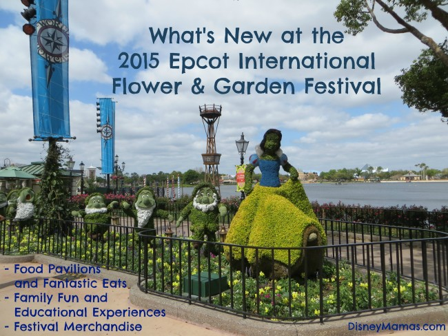 What's New at the 2015 Epcot International Flower & Garden Festival