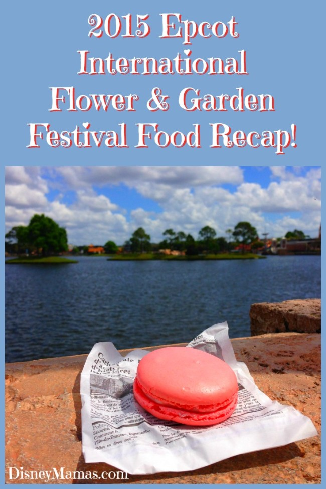 2015 Epcot International Flower and Garden Festival Food Recap