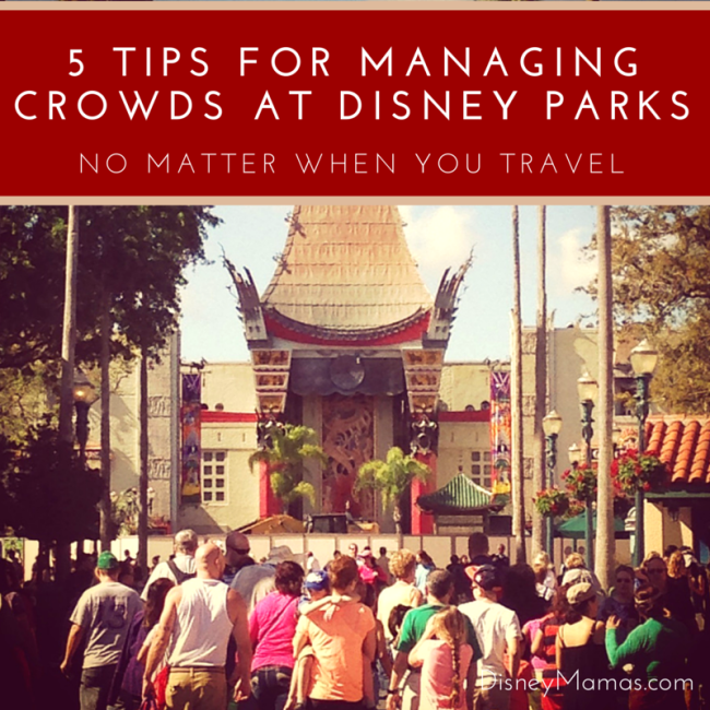 5 Tips for Managing Crowds at Disney Parks