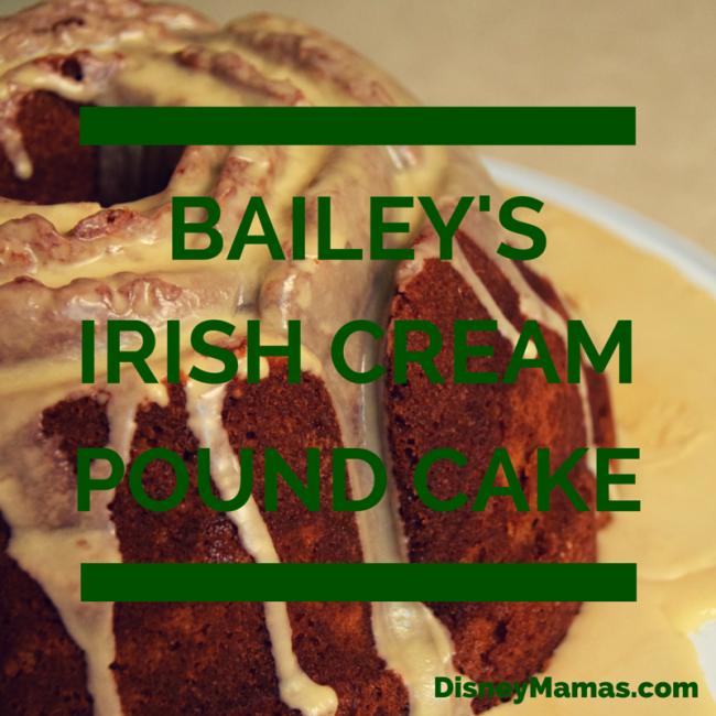 Bailey's Irish Cream Pound Cake