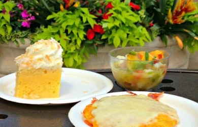 2015 International Flower and Garden Festival Highlightes - Seafood Ceviche, Cachapas and Tres Leches Cake from Botanas Botanico