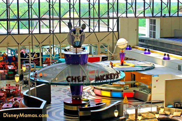Chef Mickey's is among the many dining options at Disney's Contemporary Resort. Chef Mickey's is sure to delight the entire family.