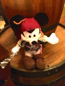 Captain Jack Sparrow Mickey is the perfect pirate souvenir for the little pirate in your life.