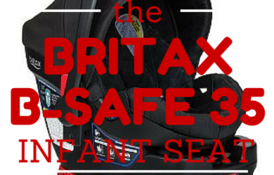 Product Review: The Britax B-Safe 35 Infant Car Seat
