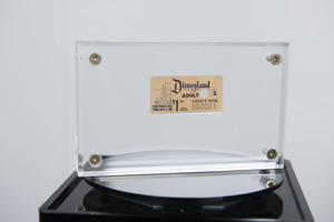 Disneyland number 1 ticket - The Walt Disney Archives today announced it will celebrate the 60th anniversary of Disneyland at D23 EXPO 2015 with an exhibit of more than 300 pieces from the park's incredible history.