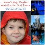 Connor's Magic Kingdom Must-Dos for First Timers