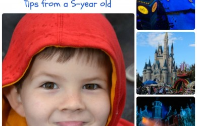 Connor's Magic Kingdom Must-Dos for First Timers - Tips from a 5-year old