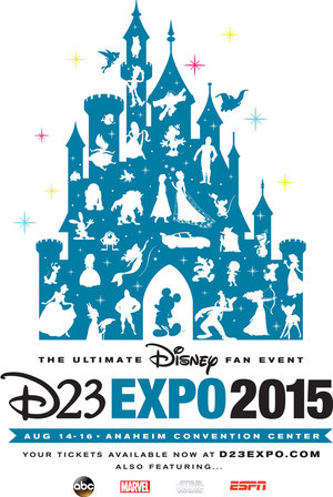 D23 Expo 2015 Final Poster