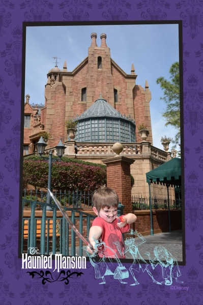 Connor's Magic Kingdom Must-Dos for First Timers - The Haunted Mansion