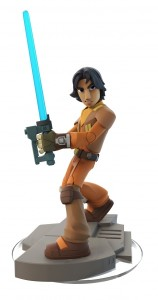 Growing up on his own, Ezra Bridger relied on his street smarts – and subconscious Force abilities – to survive on Lothal. That changed when he met the Ghost crew; Ezra came to believe in their cause, and with the help of Kanan, began to learn the ways of the Jedi, using his custom Lightsaber to undermine the Empire and inspire the rebels.