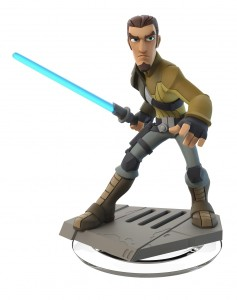 Jedi turned rebel fugitive, Kanan Jarrus leads his team in secret operations to help overthrow the Galactic Empire. He defends the innocent with his blaster and Lightsaber™ and guides his Padawan, Ezra, in the ways of the Force™.