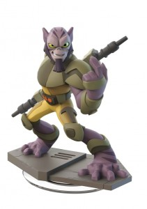 Zeb Orrelios is as strong a brawler as he is headstrong. He stands alongside his fellow rebels with his bo-rifle in hand, ready to take on the Imperial forces.