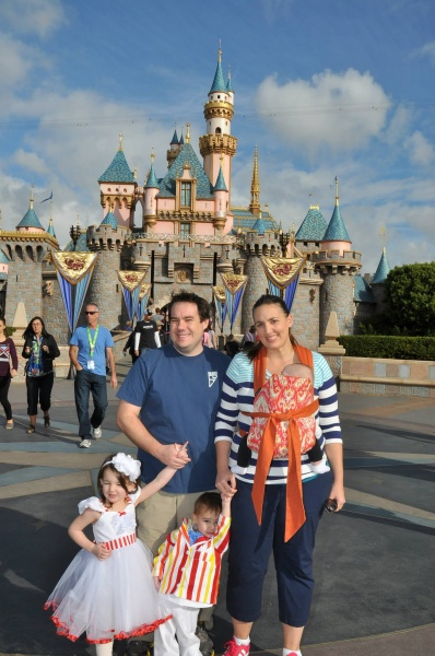 Baby wearing can come in very handy at Disney Parks!