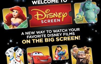 Disney Screen Giveaway: Your Disney Favorites Back on the Big Screen | Disney Mamas