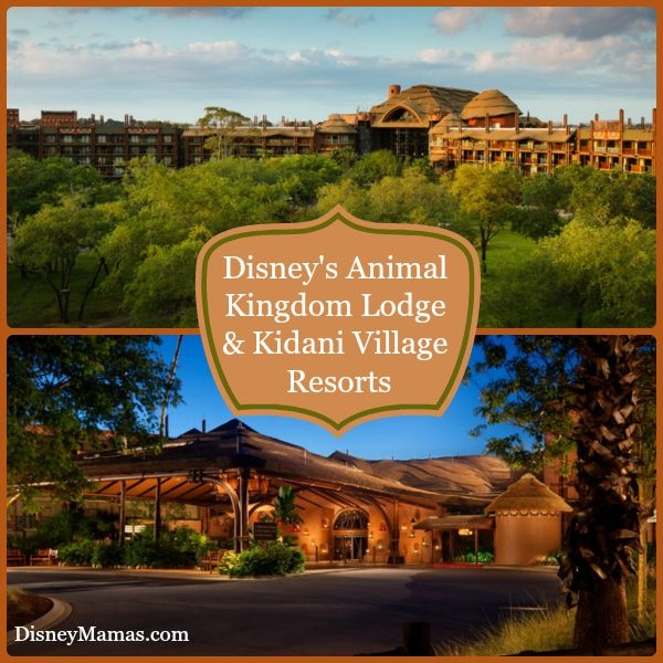 Disney's Animal Kingdom Lodge & Kidani Village Resorts are perfect for the entire family..