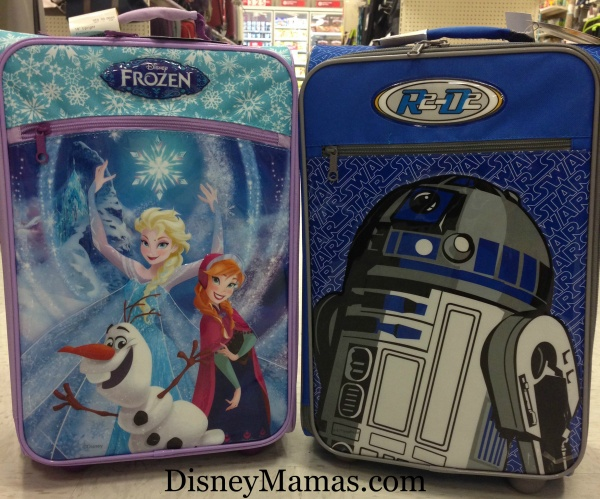 These adorable American Tourister suitcases at Target are the perfect size for packing all your little ones Disney needs.