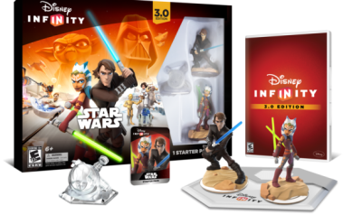 Disney Infinity 3.0 Starter Pack. Release date 8/30/15
