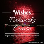 Wishes Fireworks Cruise ~ A Special Splurge