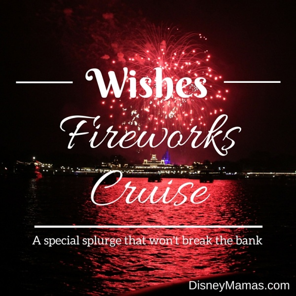 A Wishes Fireworks Cruise is a great splurge for a special occasion; the view from Seven Seas Lagoon is spectacular!