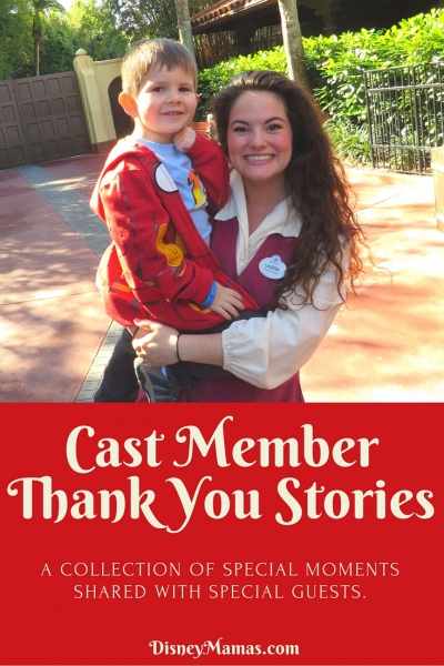 Cast Member Thank You Stories - Special Moments Shared with Special Guests