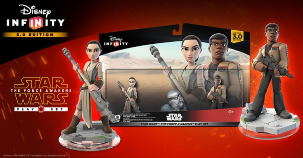 Disney Infinity 3.0 Star Wars: The Force Awakens Play Set will be available just in time for Christmas