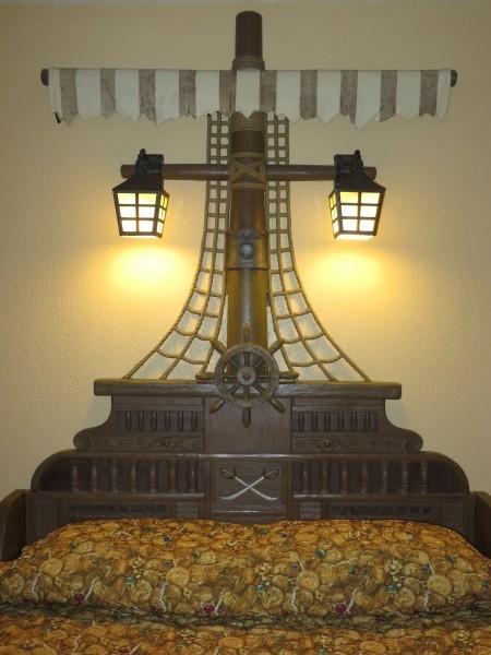 Pirate Bed Detail (Pre-refurb)