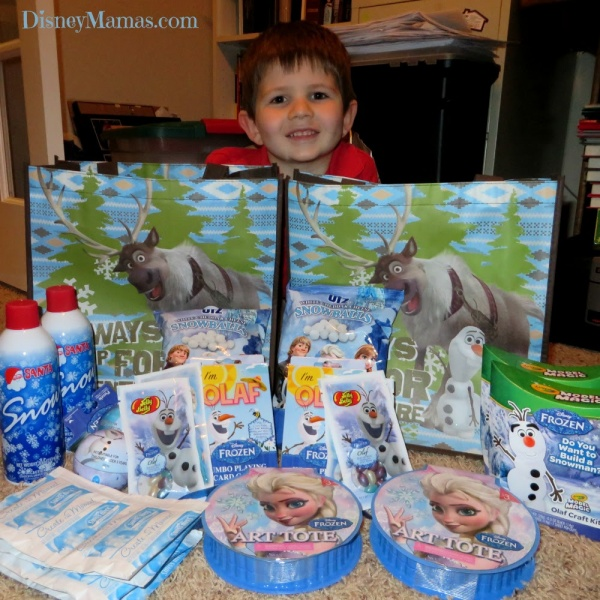 Our Frozen Goodies for Olaf to Deliver! - Wal-Mart and Target have great Frozen goodies for under $5