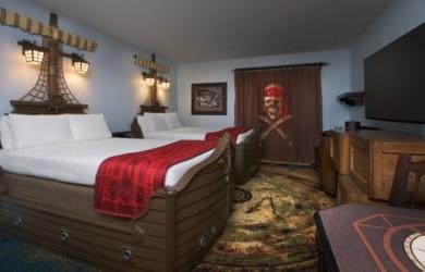 Kid Review ~ Pirate Rooms at Disney's Caribbean Beach Resort