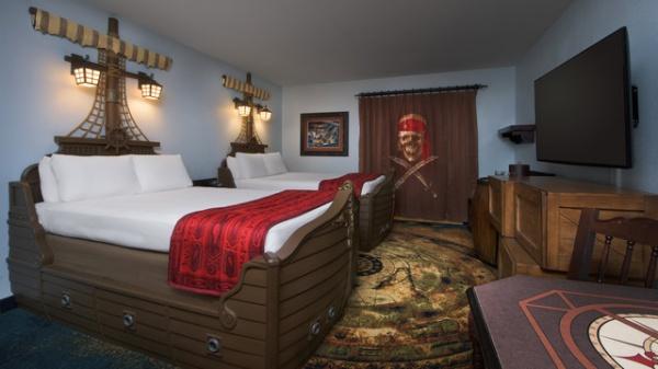Disney Mamas Kid Reviews Pirate Rooms At Caribbean Beach Resort