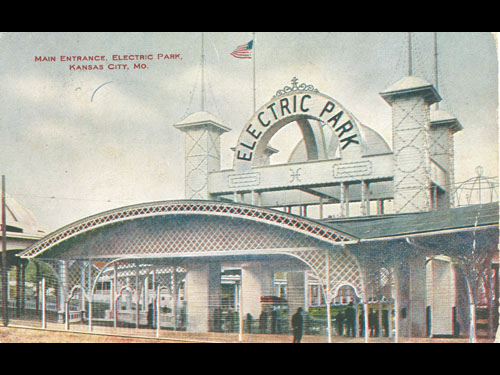 Electric Park, Kansas City  around 1910