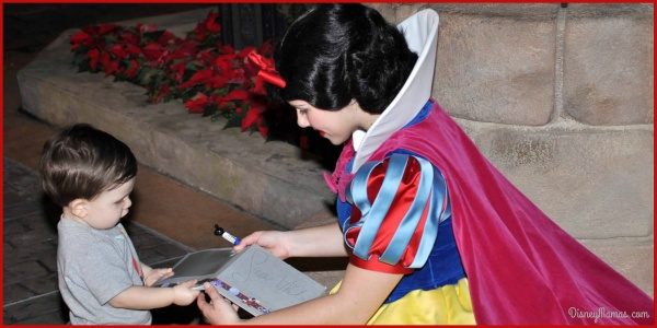 Epcot Spotlight - Meeting Snow White in the Germany Pavilion | Disney Mamas