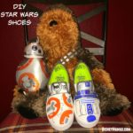 Celebrating Star Wars ~ DIY BB-8 Shoes