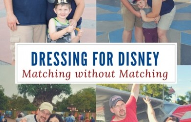 Dressing for Disney : Tips for coordinating style without wearing matching shirts.